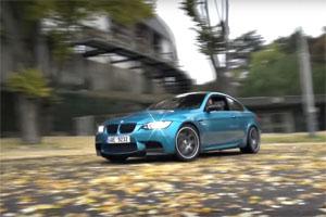 E92 BMW M3 Drift in Prague