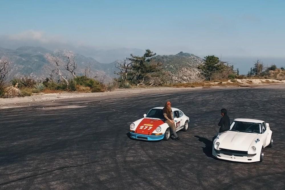Magnus Walker and Sung Kang Car Swap