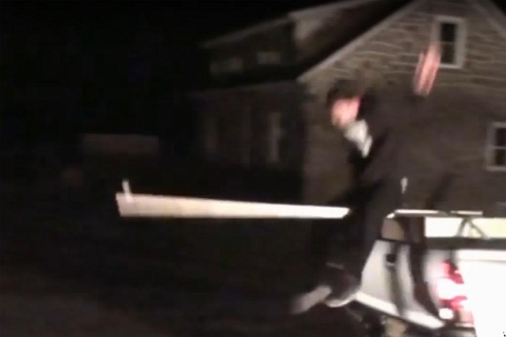 Friday FAIL: Stupid Truck Stunt