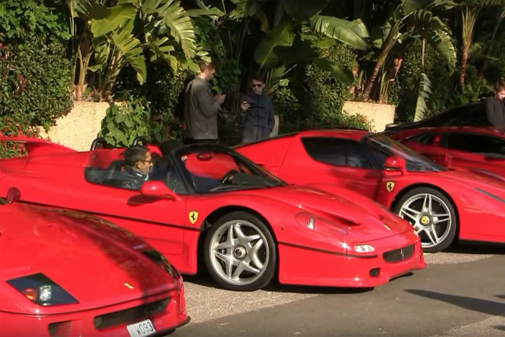 Cars & Coffee Monaco Ferraris