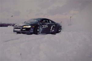 Daily Driven Exotics Snow Drifting