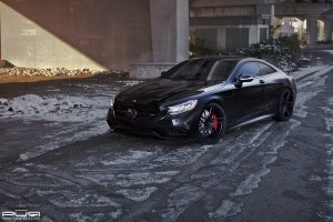 Mercedes-AMG S63 Coupe with PUR RS23 Wheels