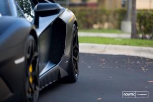 Lamborghini Aventador SV with Vossen Novitec X Vossen Forged NV1 Wheels