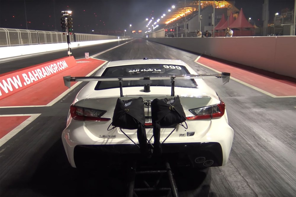 World Record 3,000-HP Lexus RC F