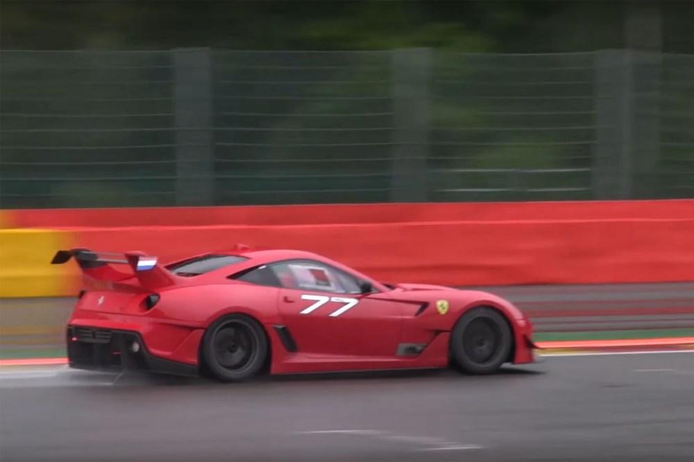 Ferrari 599XX EVO Spa Francorchamps