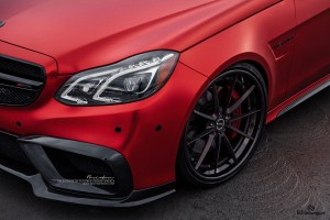 Mercedes-Benz E63 AMG with Brixton Forged WR3 Targa Series Wheels