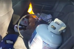 Friday FAIL Propane Car Heater