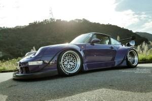 RWB Porsche 993 911 with Brixton Forged HS1 Circuit+ Wheels by ReinART Design