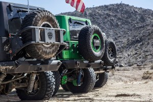 Starwood Motors Jeep Wrangler with Centerline RT3 MX Wheels at King of the Hammers