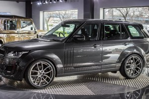 Causeway Grey Land Rover Range Rover Vogue Pace Car by Project Kahn