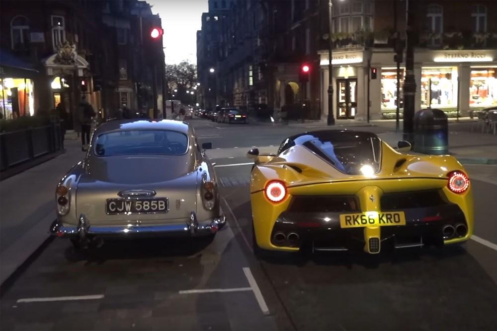 Ferrari LaFerrari Aperta London