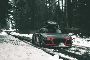 AudiSport Audi R8 with Brixton Forged WR3 Targa Series Wheels by MW Design / WrapWorkz