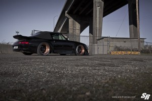RWB 993 Porsche 911 with PUR LG01 Wheels by SR Auto Group