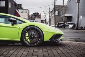 Lamborghini Aventador LP 750-4 SuperVeloce with Brixton Forged WR3 Ultrasport+ Wheels