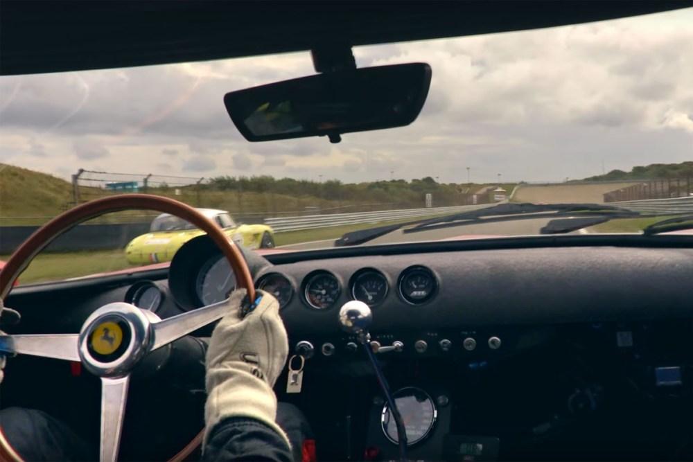 Ferrari 250 GTO in-car footage