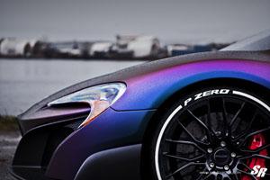 McLaren 675LT with PUR Wheels