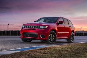 2018 Jeep Grand Cherokee Trackhawk2018 Jeep Grand Cherokee Trackhawk