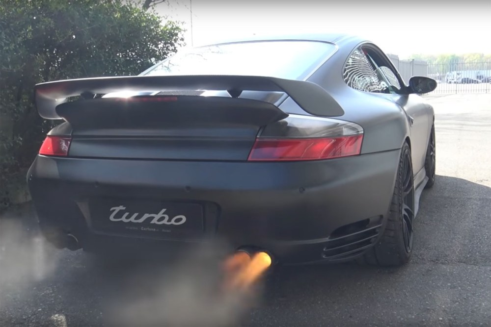 9ff Porsche 911 Turbo Anti-Lag