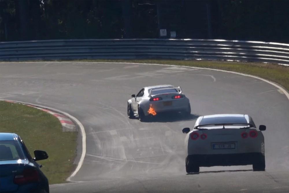 Nürburgring Nordschleife Exhaust Flames