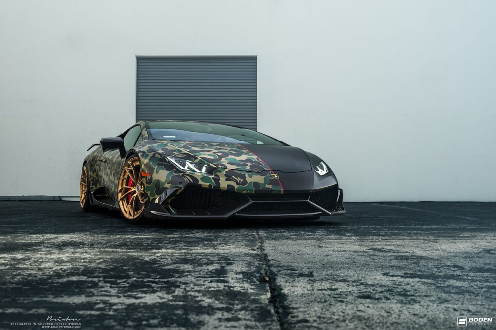 Lamborghini Huracan with Brixton Forged PF1 Duo Series Wheels