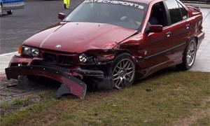 Friday FAIL: Super BMW Nürburgring Crash Compilation