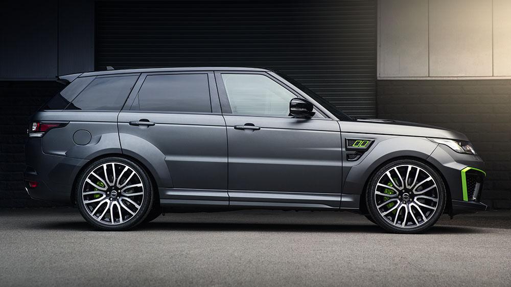 Project Kahn Range Rover Sport SVR Pace Car