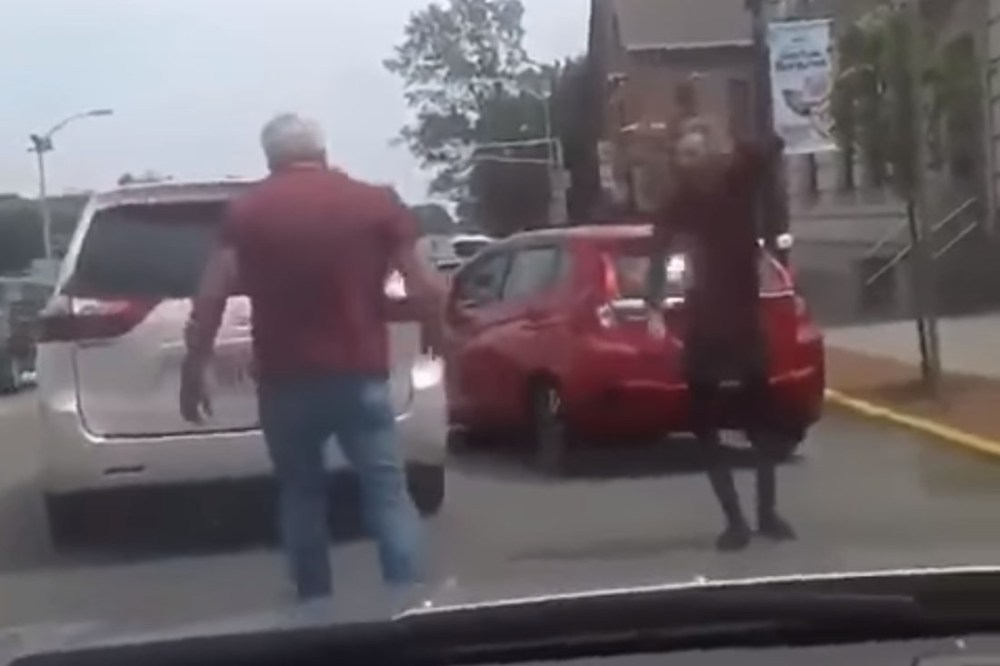 Friday FAIL: Dog Throwing Road Rage