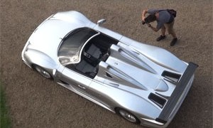 Mercedes-Benz CLK GTR Roadster Rally