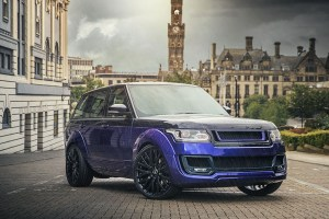 Project Kahn Range Rover Vogue SE Pace Car