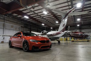 Sakhir Orange BMW M4 with Brixton Forged PF1 Ultrasport+ Wheels