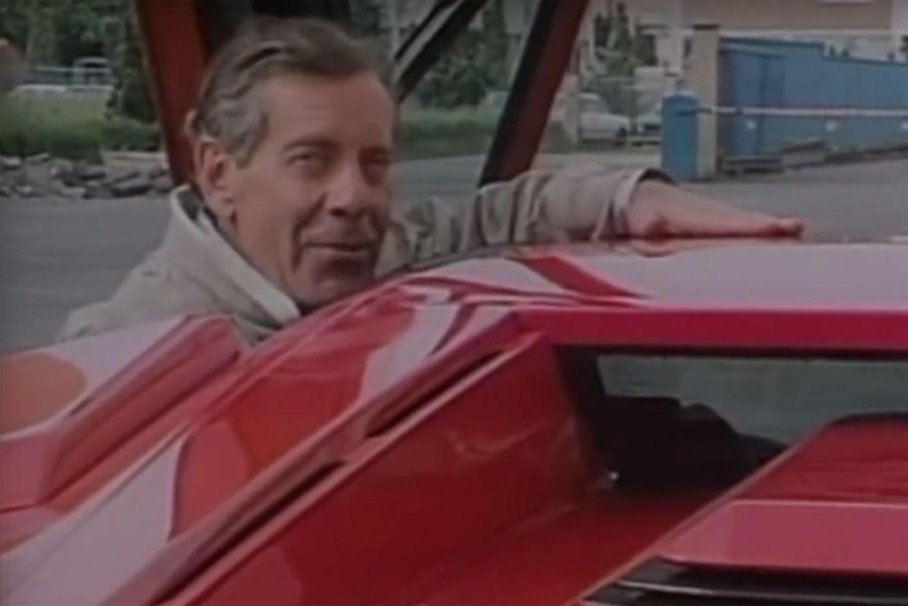 CBS 60 Minutes 1987 Lamborghini Story