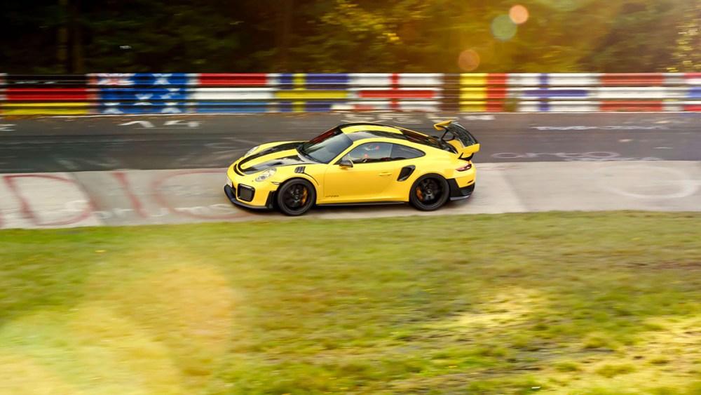 Porsche 911 GT2 RS Nürburgring Nordschleife Lap Record
