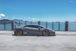 ReinART Design Lamborghini Huracan with Brixton Forged CM5 Targa Series Wheels