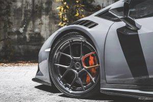 ReinART Design Lamborghini Huracan with Brixton Forged CM5 Targa Series Wheels