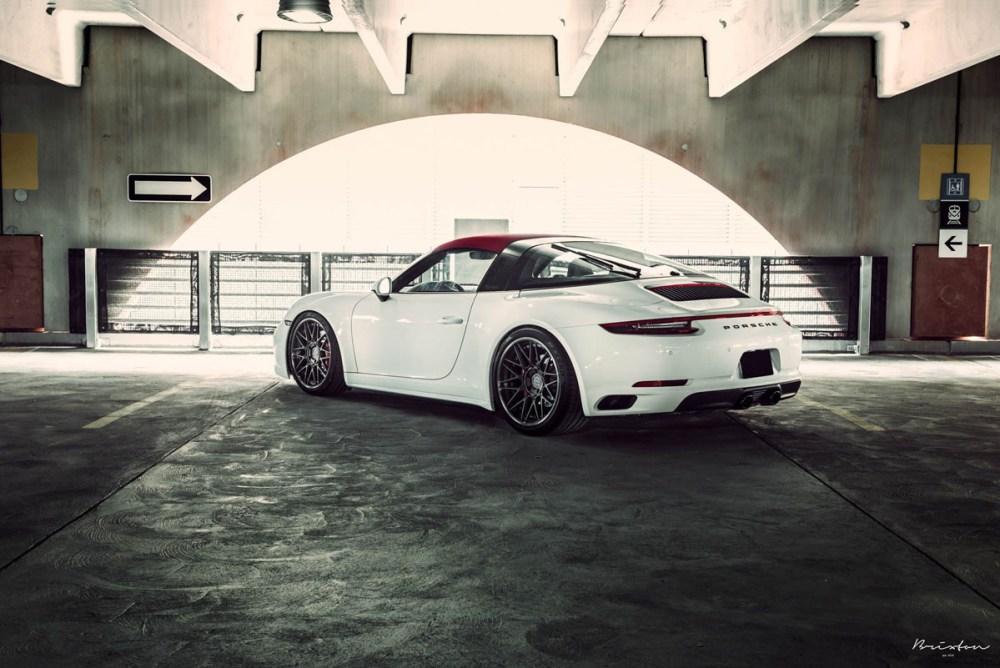 991.2 Porsche 911 Targa 4S Brixton Forged VL13 Targa Series Wheels