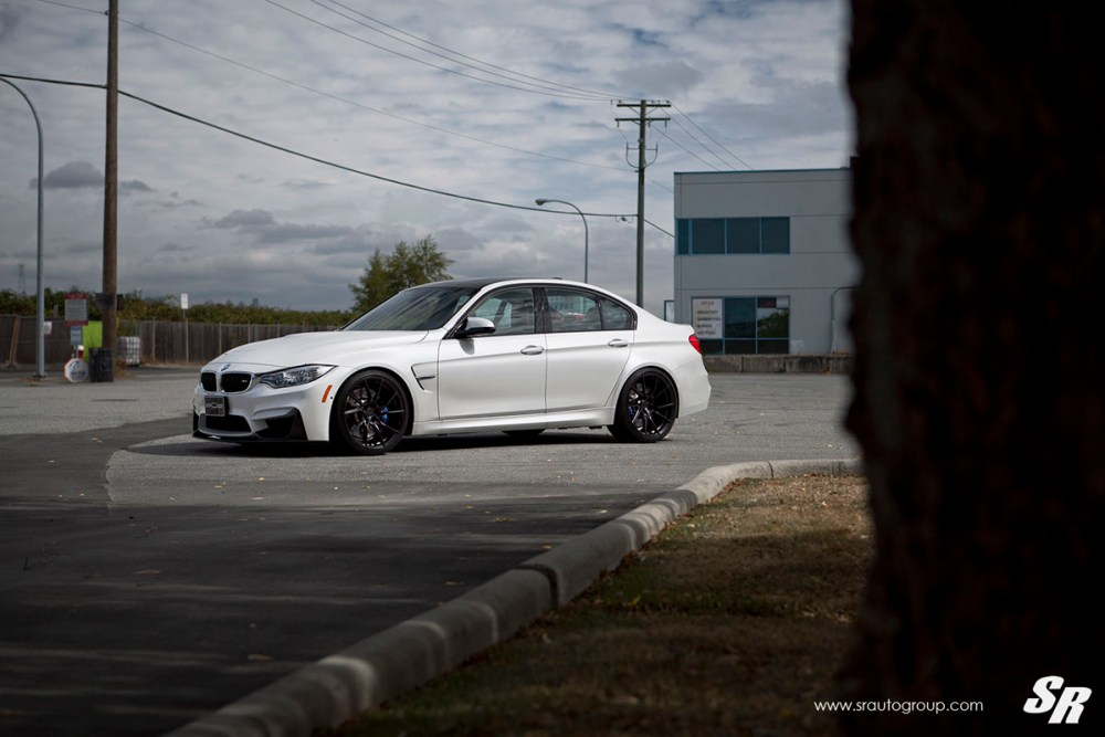 BMW M3 with PUR FL26 Wheels by SR Auto Group