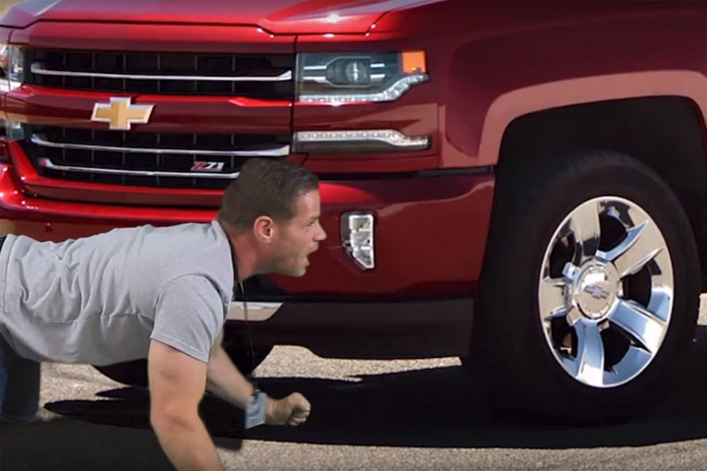 Mahk Chevrolet Silverado Real People Parody