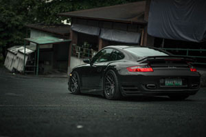997.1 911 Turbo Brixton Forged Wheels
