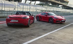 Porsche 718 Boxster and Cayman GTS