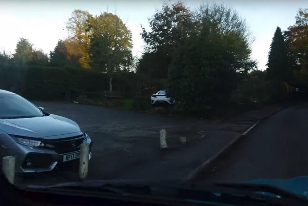 Acura NSX Crash