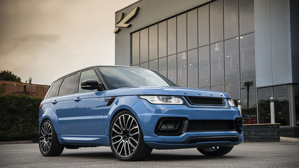 Project Kahn Powder Blue Pearl Range Rover Sport Autobiography Dynamic Pace Car