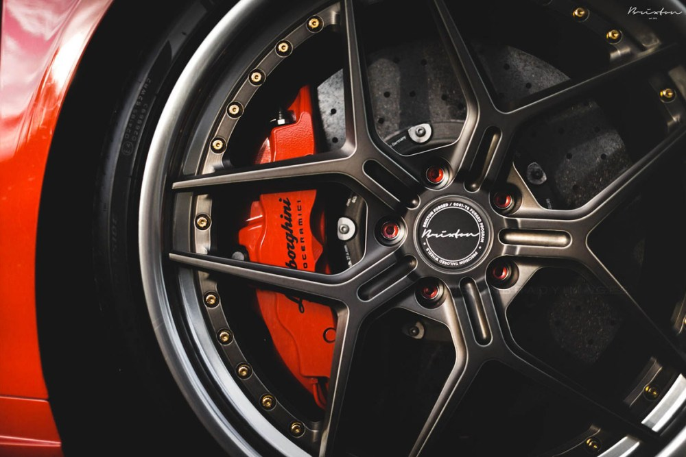CFi Designs Twin Turbo Lamborghini Huracan Brixton Forged WR7 Targa Series Wheels