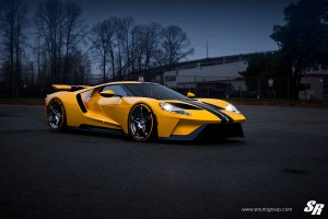 Ford GT with PUR RS10 Wheels by SR Auto Group