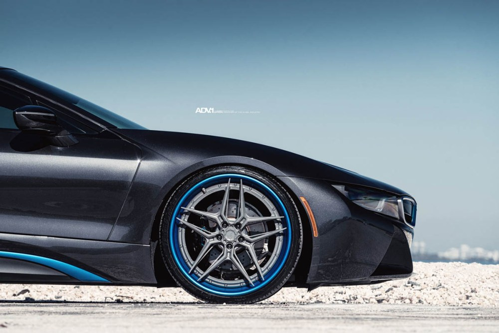 BMW i8 with ADV510 Track Spec Advanced Series Wheels