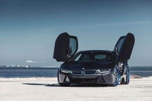 BMW i8 with ADV510 Track Spec Advanced Series Wheels