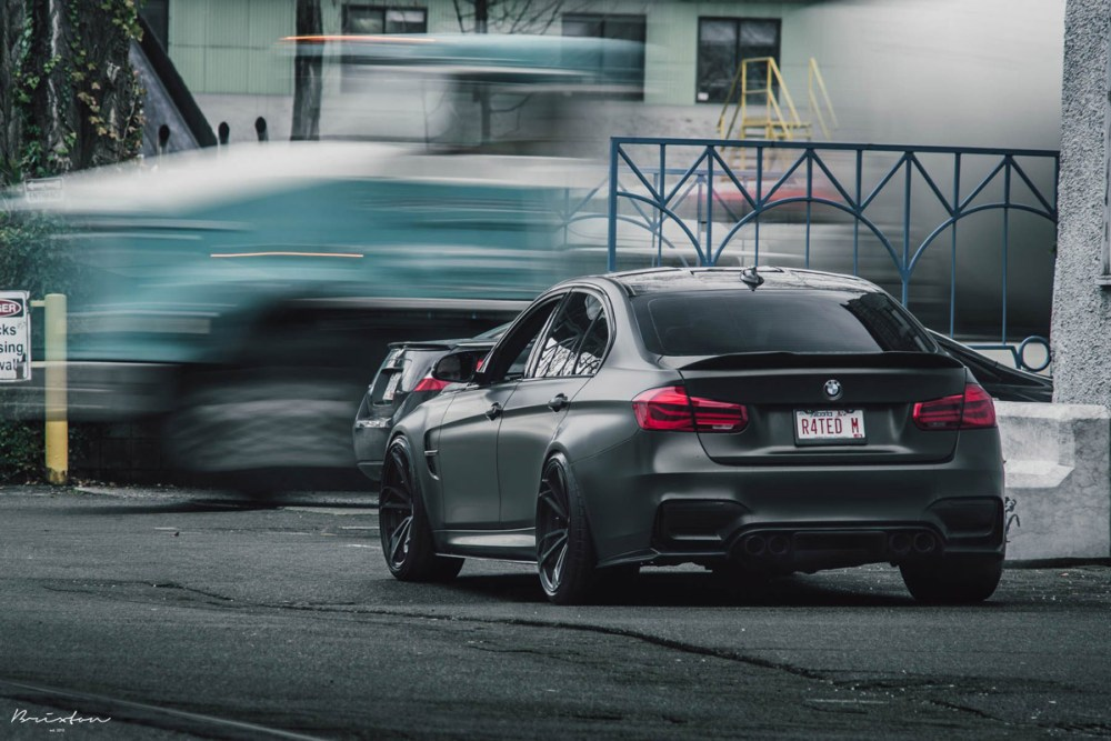 F80 BMW M3 with Brixton Forged PF1 Duo Series Wheels