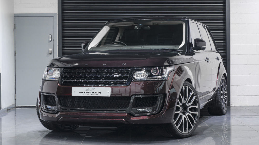 Project Kahn Land Rover Range Rover Autobiography Pace Car