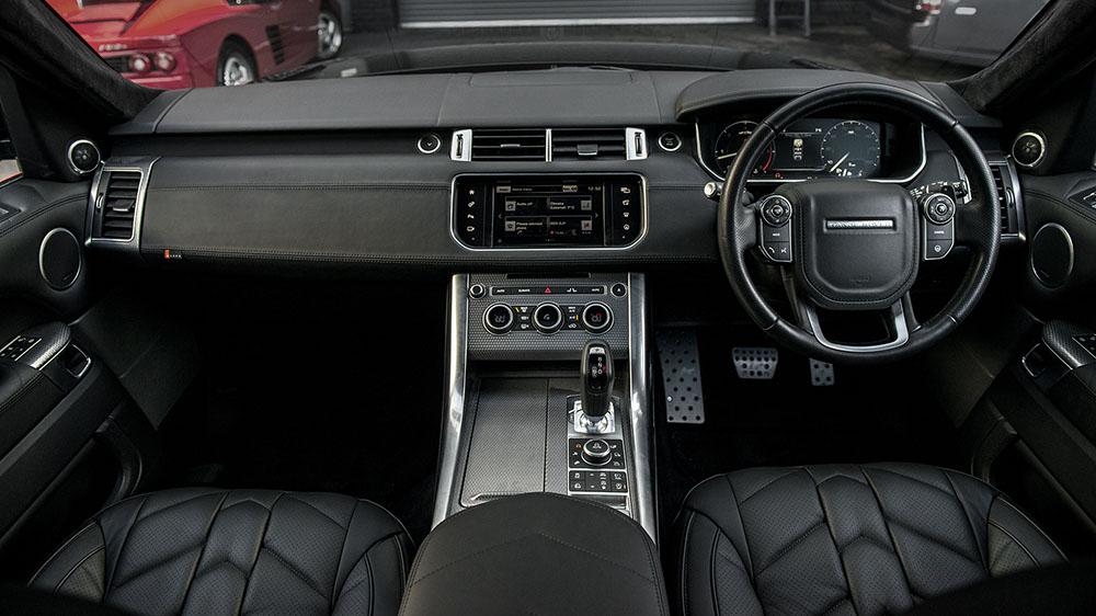 Project Kahn Range Rover Sport Autobiography Pace Car