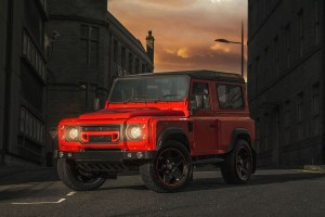 Chelsea Truck Company Land Rover Defender 90 The End Edition in Lava Orange