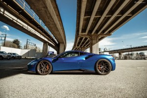 Ferrari 488 GTB Brixton Forged WR7 Targa Series Wheels